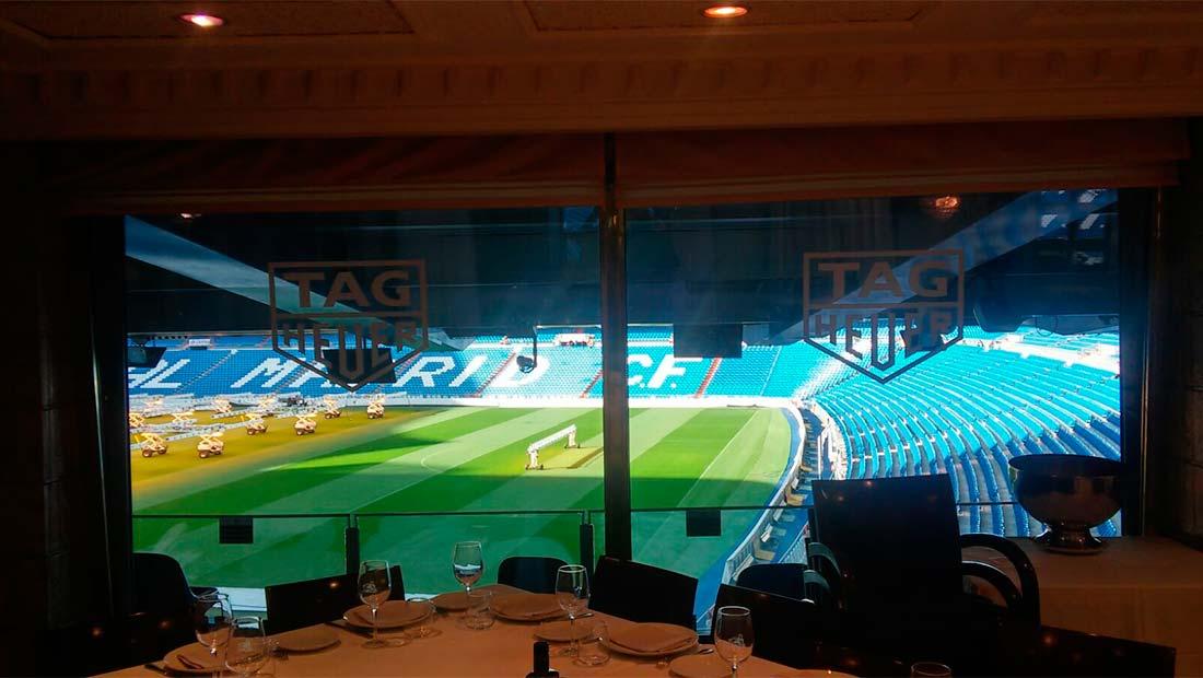 Evento en el Estadio Santiago Bernabeu