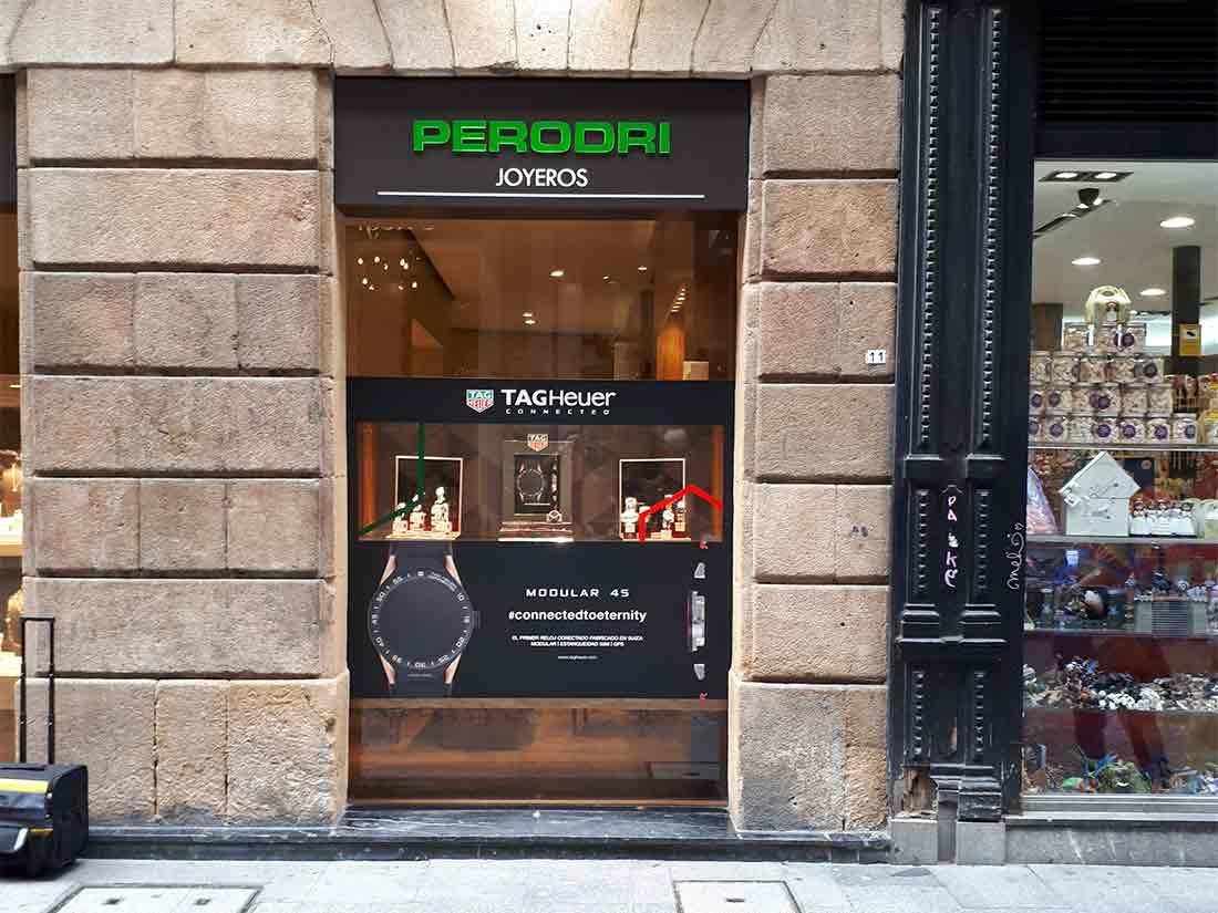 Instalción de Escaparates en Bilbao