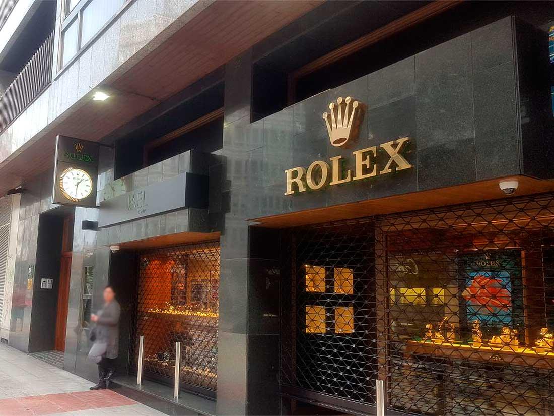 Rótulo Luminoso fachada en Santiago de Compostela