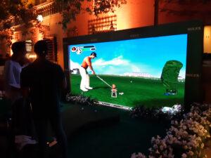 Simulador juego de Golf para Eventos