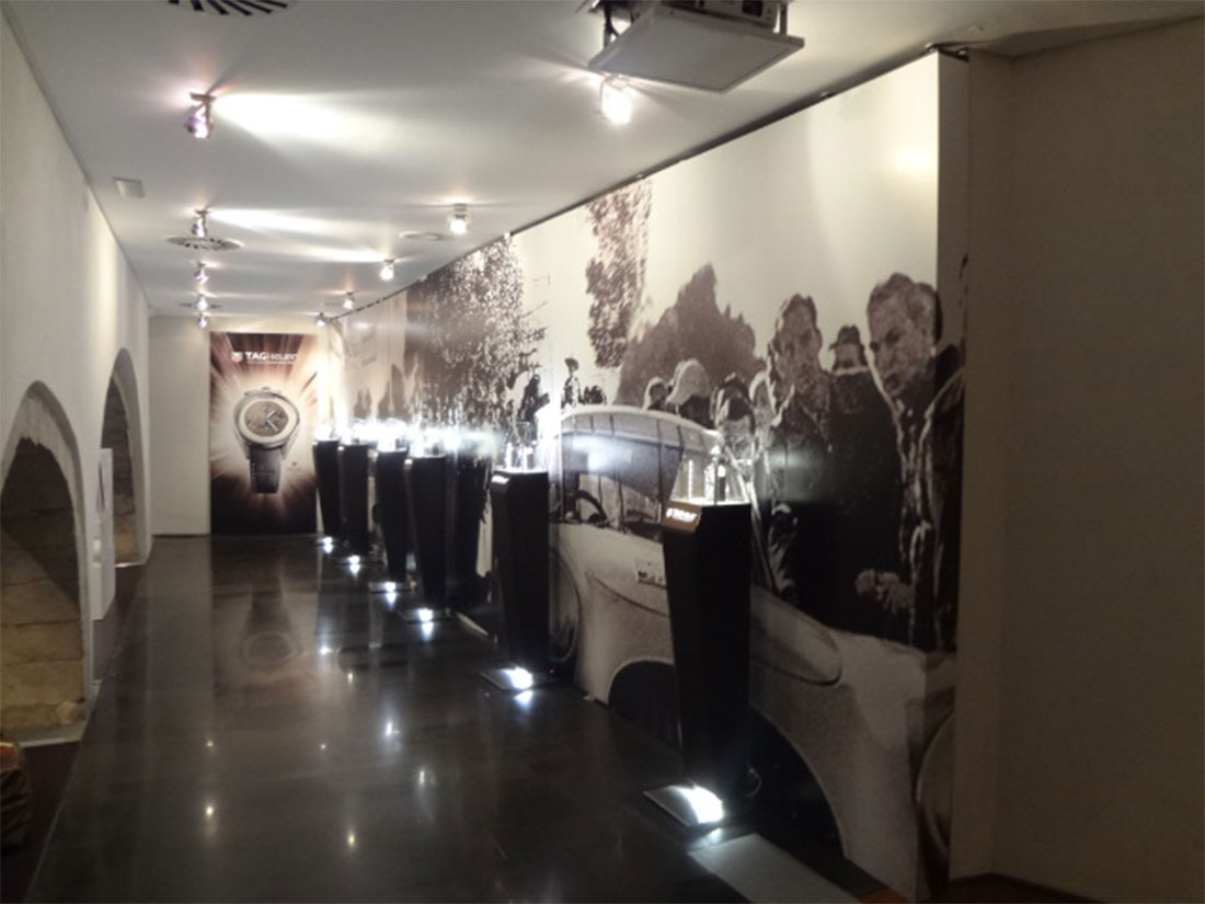 Exposición de TAG Heuer en Joyería Pere Quera