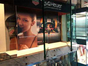 Decoración de vitrinas tiendas