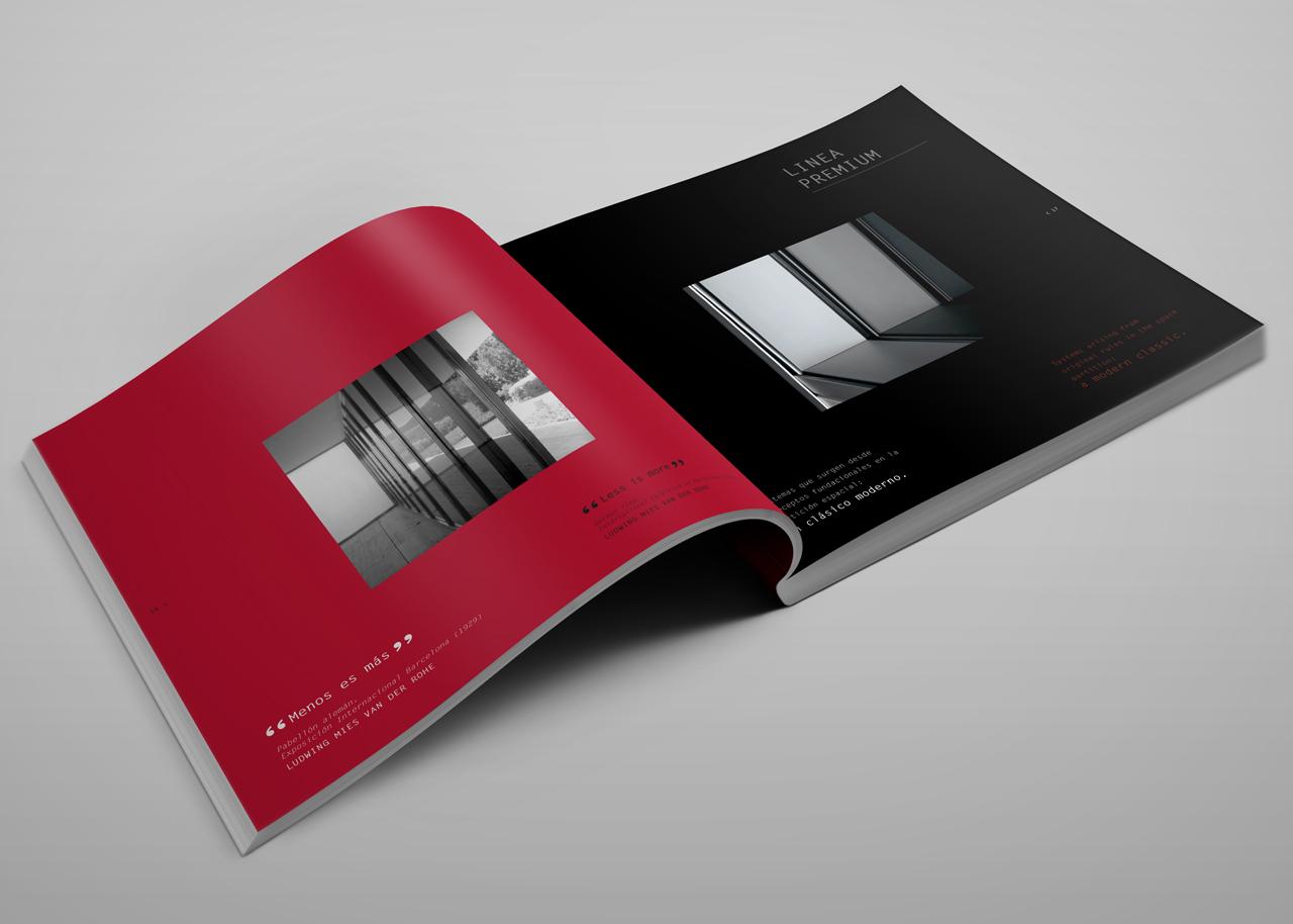 Diseño de catálogo corporativo