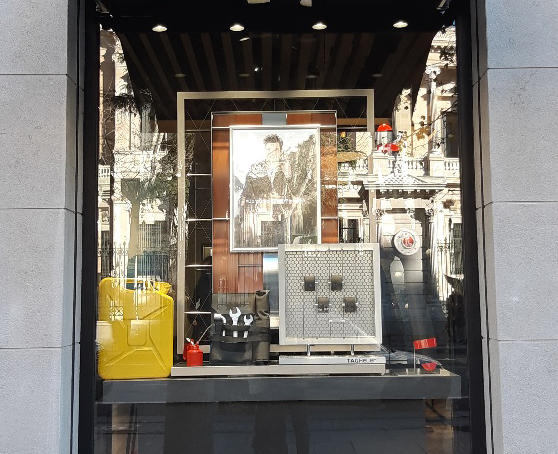 Diseño Escaparates en Madrid. Diseño y Montaje
